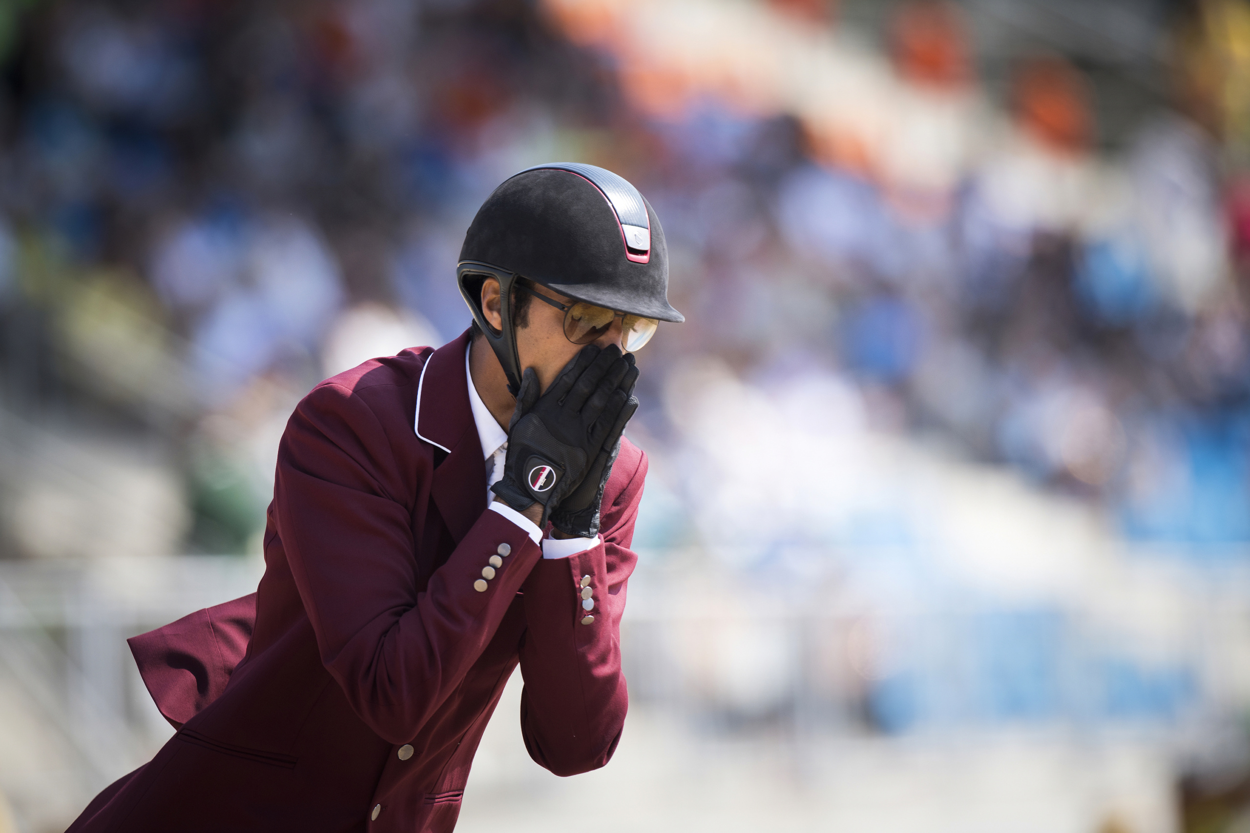 EQUESTRIANCampaign realized for the International Federation for Equestrian Sports FEI.Olympic Games Rio 2016JUMPING INDIVIDUAL QAT AL THANI Sheikh Ali