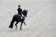 FEI EUROPEAN CHAMPIONSHIPS Aachen 2015. Individual Final Grand Prix Dressage.  Rider. Jessica VON BREBOW-WERNDL. HORSE. UNEE BB