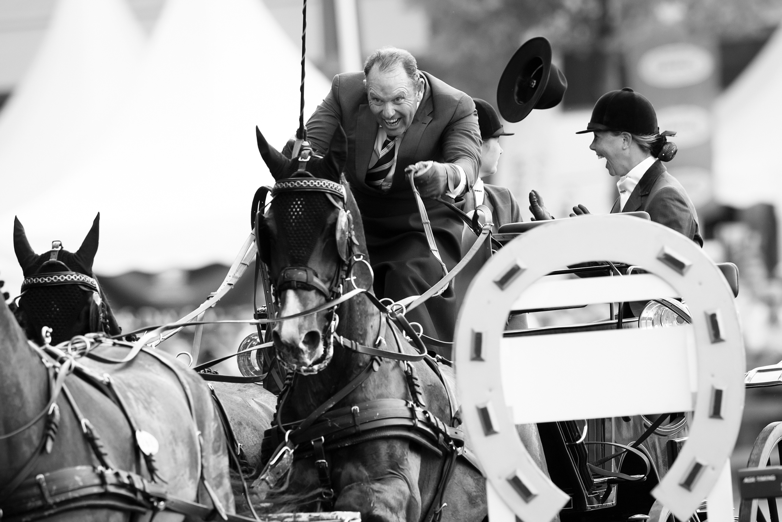 FEI EUROPEAN CHAMPIONSHIPS Aachen 2015.OBSTACLE DRIVING COMPETITION 2nd individual and team qualifier.UBSBRAND CHARDON NED