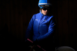 Picture taken for Godolphin.  Godolphin, sponsored by Emirates, is the Maktoum family's private Thoroughbred horseracing stable and was named in honour of the Godolphin Arabian, who came from the desert to become one of the three founding stallions of the modern Thoroughbred. Godolphin's headquarters are in Dubai, United Arab Emirates. It operates two racing stables in Newmarket, UK, two in Sydney, Australia, one in Melbourne, Australia, and also has horses in training with independent trainers in Great Britain, Australia, France, Japan, The United States of America and Ireland. UAE Vice President, Prime Minister and Ruler of Dubai, H.H. Sheikh Mohammed bin Rashid Al Maktoum is the driving force behind Godolphin.