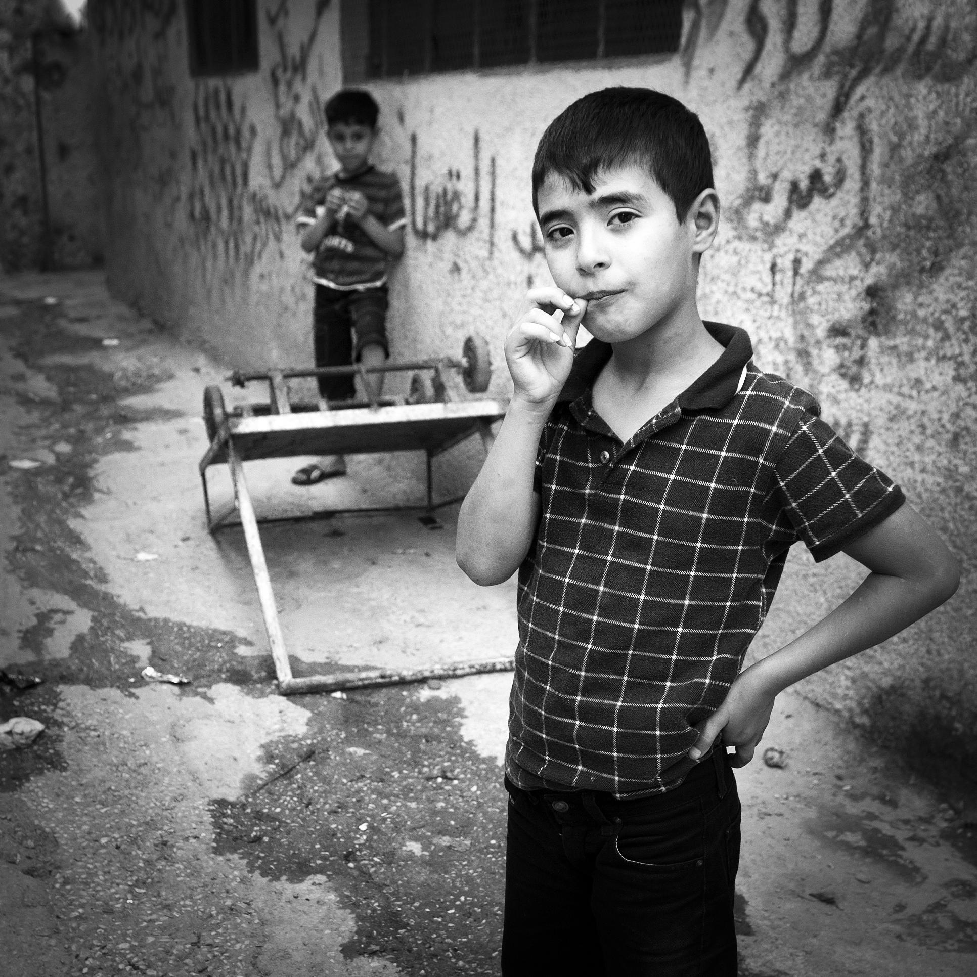 Bethlehem, Palestine.Bethlehem street scene.