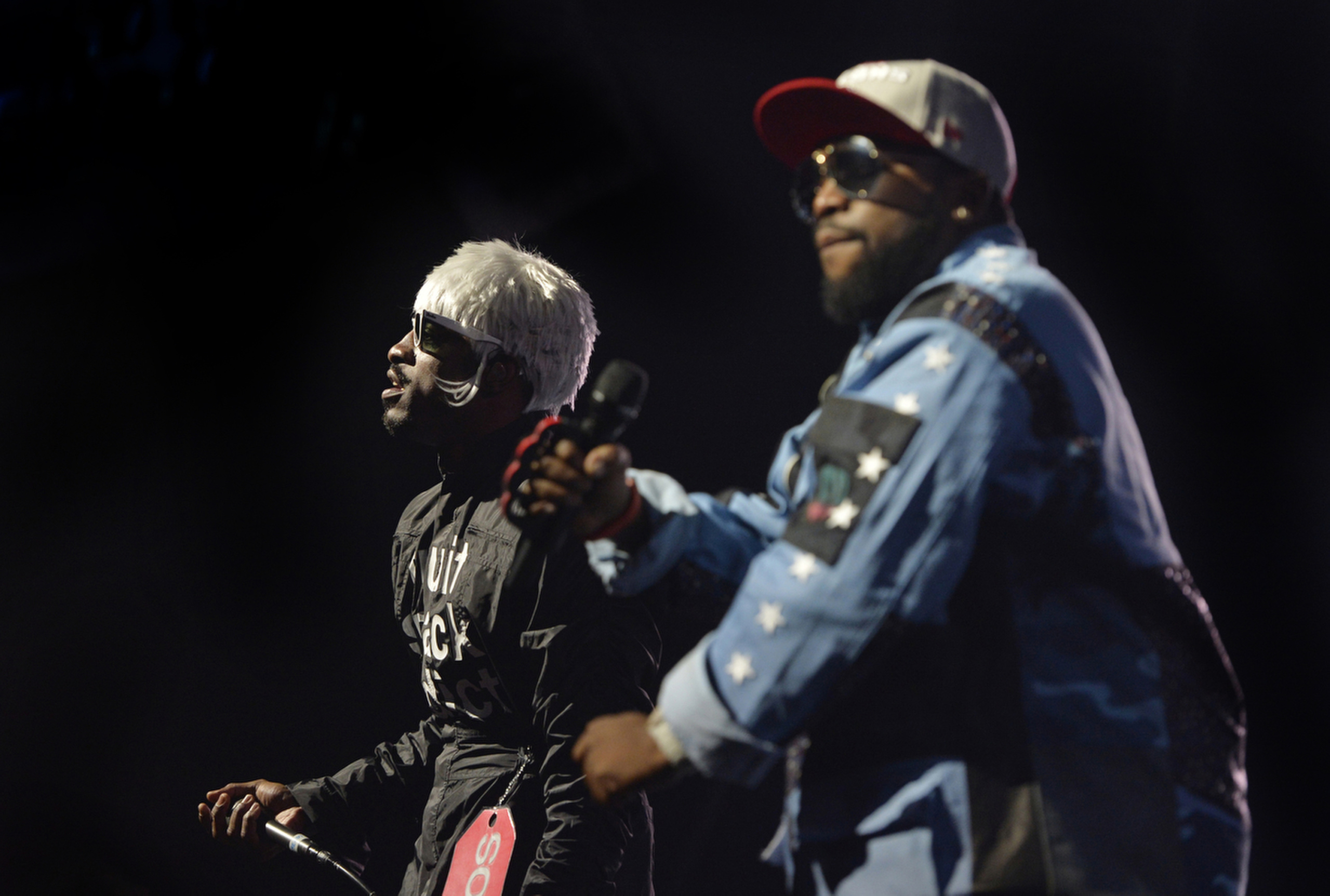 Outkast performs on stage at the Auditorium Stravinski during the 48th Montreux Jazz Festival on July , 2014.