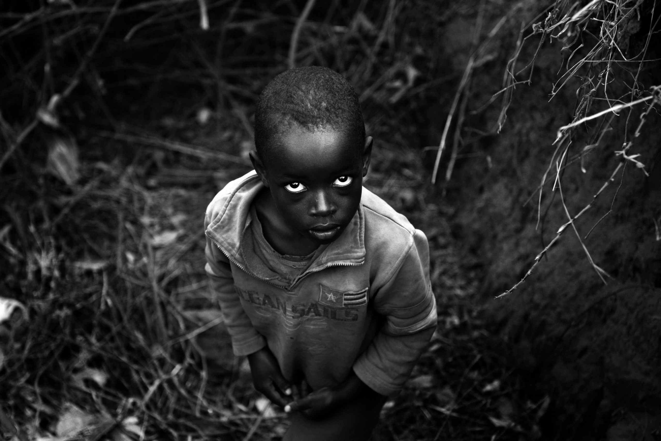 MAYANGE, RWANDA. Young child working in the field. Children in Rwanda are engaged in the worst forms of child labor, including in agriculture and domestic service.