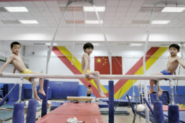 SPORT FACTORY Beijing ,China. China rigorously trains about 300,000 children in their sports academies across the country. The future champions are scouted at a very young age by recruiters, which is followed by intensive training in gymnastics, table tennis, swimming... The day starts about 6am and finishes about 9pm after a day completely dedicated to training and studies. Inspired by the Soviet model, these centers allow the Empire to accumulate more than 1,600 medals in different international competitions since 1949.
